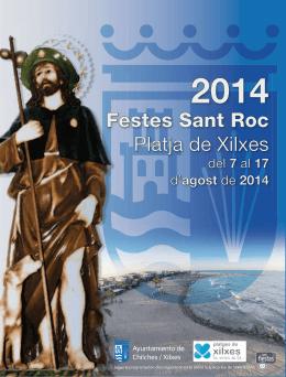 Festes Sant Roc Platja de Xilxes - Ayuntamiento de Chilches