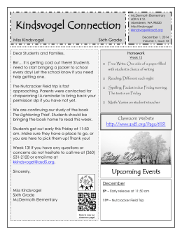 Kindsvogel Connection - Aberdeen School District