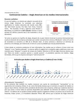 Controversia Codelco – Anglo American