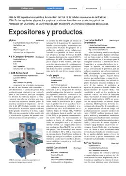 IfraExpo 2006 - WAN-IFRA