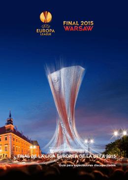 FINAL DE LA LIGA EUROPEA DE LA UEFA 2015