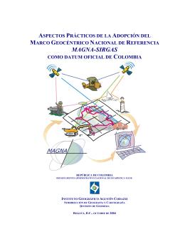 Aspectos prácticos de la adopción del Marco Geocéntrico Nacional