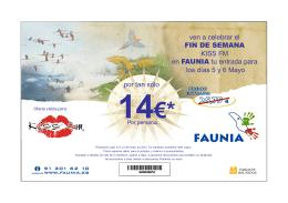 14€* - Kiss FM