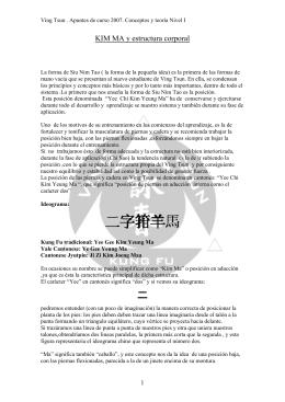 Kim Ma. - Asociación Ving Tsun Kung Fu