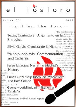 Texto, Contexto y Argumento de la Entrevista. Hacia una