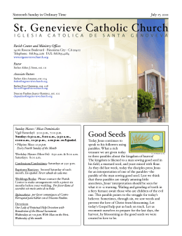 DARwin Interactive Audit -> - St. Genevieve`s Catholic Church