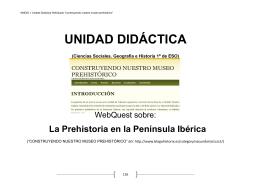 ANEXOI: UNIDAD DIDÁCTICA WEBQUEST