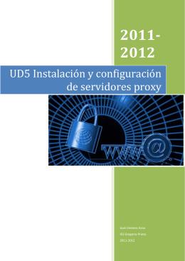 UD5 Instalación y configuración de servidores proxy