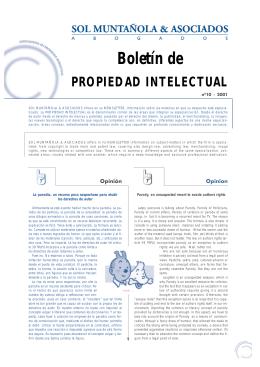 newsletter n. 10 - Sol Muntañola & Asociados