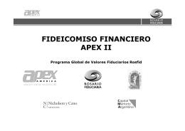 Presentación FF Apex II - 2-11-05