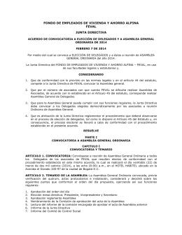 fondo de empleados de vivienda y ahorro alpina feval junta directiva