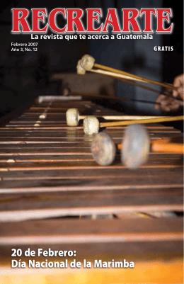 20 de Febrero: Día Nacional de la Marimba