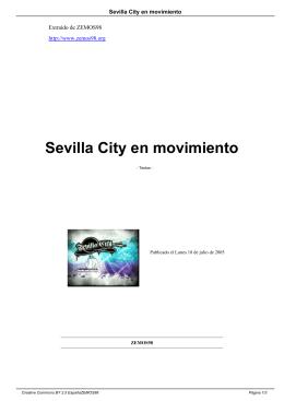 Sevilla City en movimiento