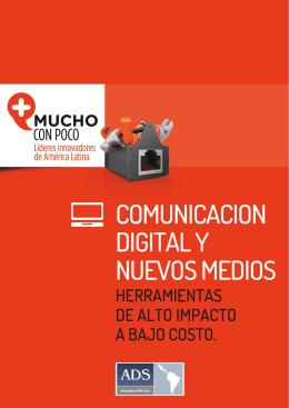 1 COMUNICACIÓN DIGITAL Y NUEVOS MEDIOS