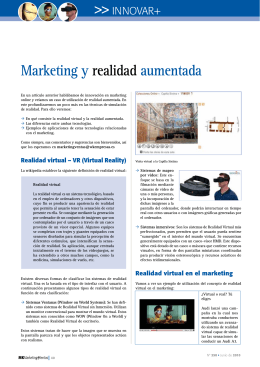 Marketing y realidad aumentada