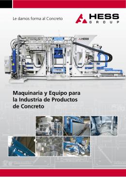 Maquinaria y Equipo para la Industria de Productos - TOP