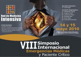 """""""Emergencias Médicas y Paciente Crítico"""", Mayo"""