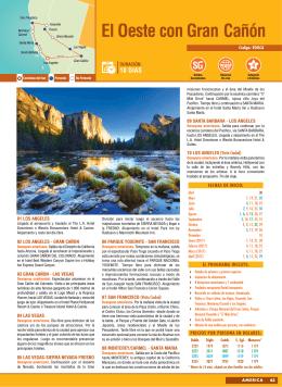 El Oeste con Gran Cañón, desde abril 30, 2016