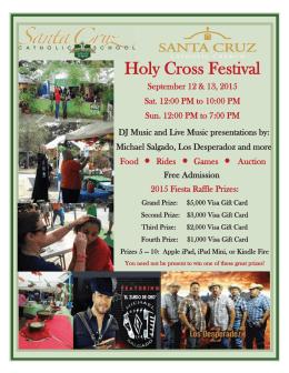Holy Cross Festival - Santa Cruz Catholic Church
