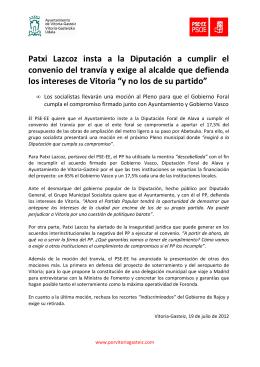 NP 20120719 Tranvía+mociones