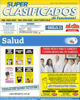 Siglo.21 - al día - Guatemala, miércoles 6 de junio de 2012