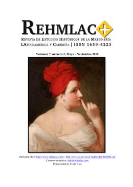 Volumen 7, número 2, Mayo - Noviembre 2015