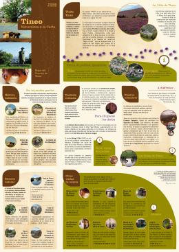 Mapa turístico Tineo 2015