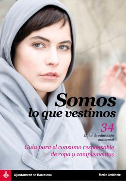34 lo que vestimos - Agenda 21 de Barcelona