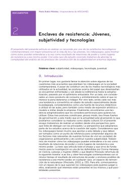 Enclaves de resistencia: Jóvenes, subjetividad y tecnologías
