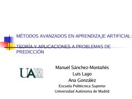Teoría Bayesiana de la Decisión - Universidad Autónoma de Madrid