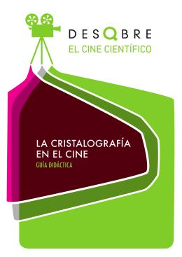 LA CRISTALOGRAFÍA EN EL CINE