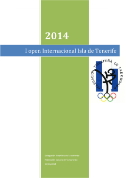 I open Internacional Isla de Tenerife