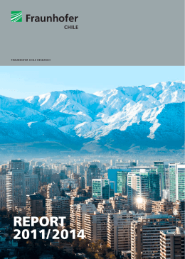 REPORT 2011/2014 - Fraunhofer Chile Research