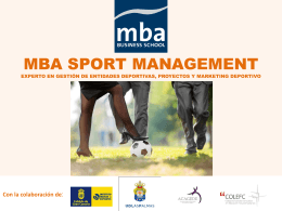 MBA SPORT MANAGEMENT - MBA Business School
