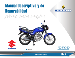 Manual Descriptivo y de Reparabilidad