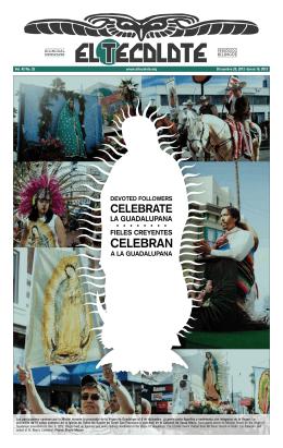 Vol. 42 No. 25 Diciembre 20, 2012–Enero 16, 2013 www.eltecolote