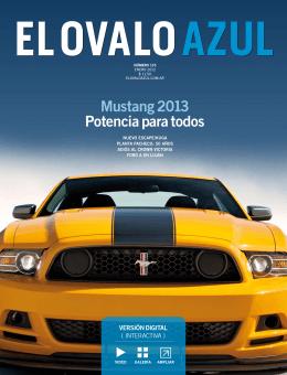 mustang 2013 Potencia para todos