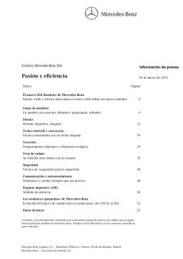 Carpeta de prensa - Mercedes Benz España