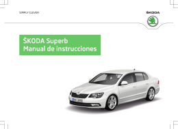 ŠKODA Superb Manual de instrucciones