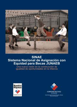 SINAE Sistema Nacional de Asignación con Equidad para
