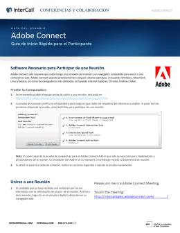 Adobe - Guía del Participante