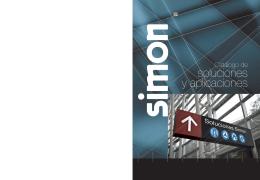 Catálogo Simon. Soluciones Simon, mecanismos