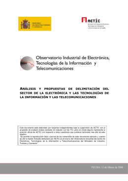 ANÁLISIS Y PROPUESTAS DE DELIMITACIÓN DEL