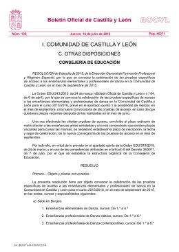 BOCYL n.º 136 16-julio-2015 - Portal de Educación de la Junta de