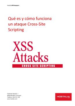 Qué es y cómo funciona un ataque Cross-Site Scripting