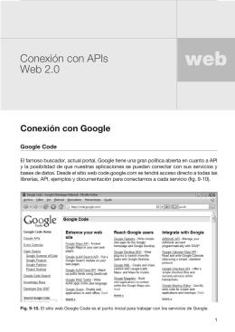Conexión con APIs