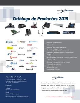 Descarga el Catálogo en PDF aquí