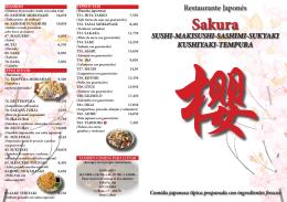 Sakura SUSHI-MAKISUSHI-SASHIMI
