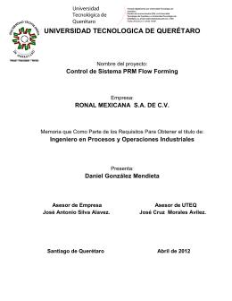 TESIS REPORTE-01 NUEVO - Universidad Tecnológica de Querétaro