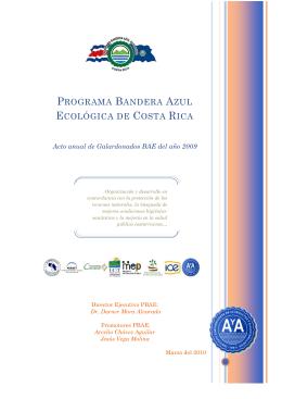 Boletín Programa Bandera Azul Ecológica 2009